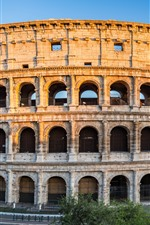 Preview iPhone wallpaper Europe, Italy, Rome, Colosseum, ruins, city