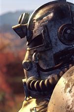 Fallout, guerreiro, capacete