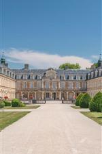 Preview iPhone wallpaper France, Palace Pierre-de-Bresse
