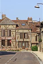 France, city, street, road, buildings