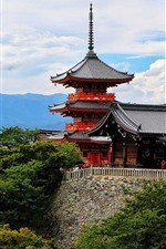Preview iPhone wallpaper Japan, Kyoto, Nagoya, tower, city