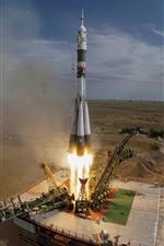 Cazaquistão, lançamento de foguetes, energia