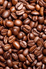 Preview iPhone wallpaper Many coffee beans background