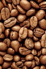 Vorschau des iPhone Hintergrundbilder Viele Kaffeebohnen