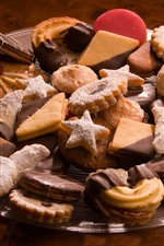 Many kinds of cookies