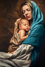 Mãe e bebê, amor