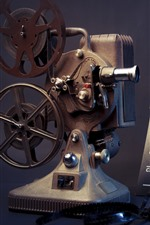 Movie player, vintage