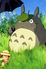 Preview iPhone wallpaper My Neighbor Totoro, classic anime