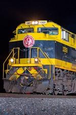 Night, train