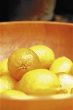 Preview iPhone wallpaper One bowl of lemons