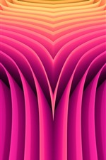 Linhas de estilo-de-rosa, curvas, abstrato