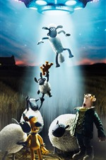 Preview iPhone wallpaper Shaun The Sheep 2