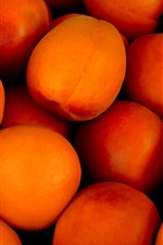 Preview iPhone wallpaper Some ripe apricots