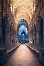 Catedral de Southwark, interior, cadeiras, Londres