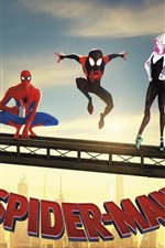 Preview iPhone wallpaper Spider-Man: Into the Spider-Verse