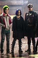 Preview iPhone wallpaper Titans, actors, TV series