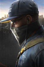 Preview iPhone wallpaper Watch Dogs 2, PS4 games