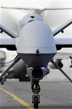 Preview iPhone wallpaper American UAV, spy aircraft, front view