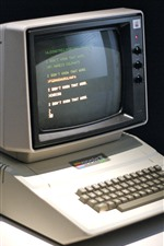 Computador clássico Apple II, monitor