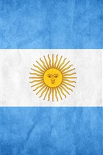 Preview iPhone wallpaper Argentina flag