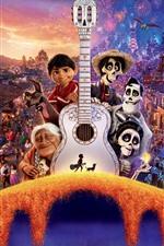 Preview iPhone wallpaper Coco, Disney cartoon movie