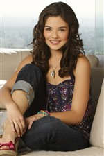 Preview iPhone wallpaper Danielle Campbell 01