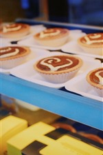 Preview iPhone wallpaper Delicious cupcakes