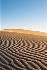 Desierto, árido, arena