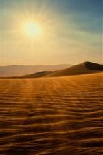 Desert, sun, sand, shadow