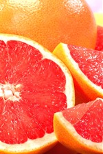 Preview iPhone wallpaper Fruit, grapefruit