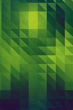 iPhone обои Зеленый абстрактный фон, текстура