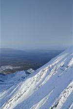 ヒマラヤ、トップビュー、雪