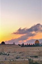 Ciudad santa jerusalén, israel