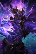 Jarvan, League of Legends, roxo, LoL