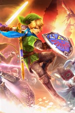 Preview iPhone wallpaper Legend of Zelda, PC game