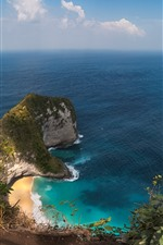 Preview iPhone wallpaper Nusa Penida, island, sea, beach