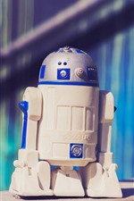 Preview iPhone wallpaper R2-D2 robot toy