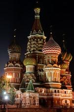 미리보기 iPhone 배경 화면 상트 페테르부르크, 러시아, 교회, 밤, 조명