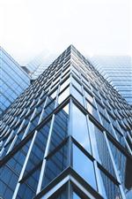 Rascacielos, ventanas de cristal