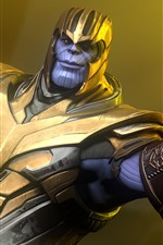 Preview iPhone wallpaper Thanos, Marvel Comics, Avengers: Infinity War
