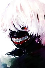 Preview iPhone wallpaper Tokyo Ghoul, classic anime
