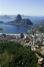 Travel to Rio, Brazil, city, sea, islands