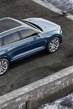 Volkswagen T-Prime Concept car top view, sea