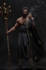 Preview iPhone wallpaper Arabian wizard, fantasy picture