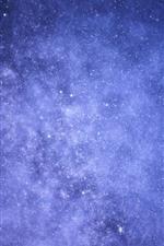 Estrelado lindo, céu
