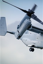 Preview iPhone wallpaper Bell Boeing V-22 Osprey tiltrotor aircraft
