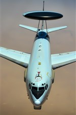 Preview iPhone wallpaper Boeing E-3 Sentry, AWACS aircraft, USAF