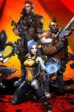 Preview iPhone wallpaper Borderlands 2, video game