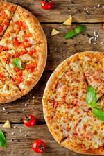 预览iPhone壁纸 美味的馅饼,西红柿,食物
