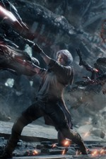 Devil May Cry 5, luta